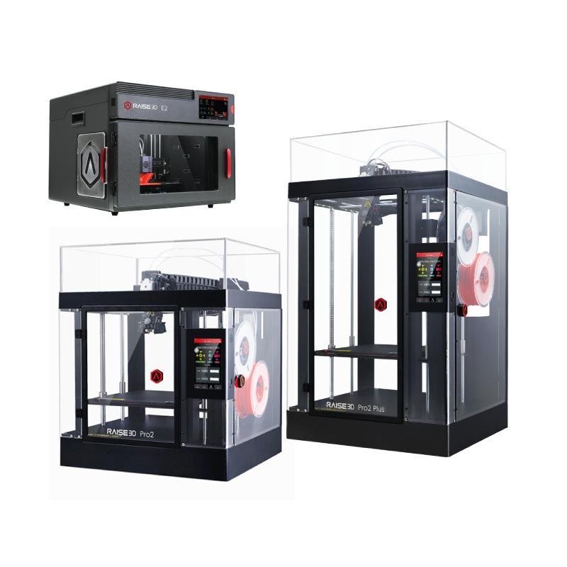 Imprimantes 3D FDM de Raise3D - E2 et Pro2 Series